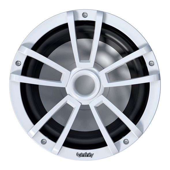 """Infinity 1022MLW 10"""" Multi-Element Marine Subwoofer w/Grille - White [INF1022MLW]"""
