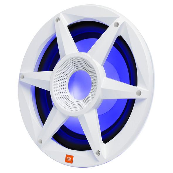 "JBL 10"" Marine RGB Passive Subwoofer - White Stadium Series [STADIUMMW1000AM]"