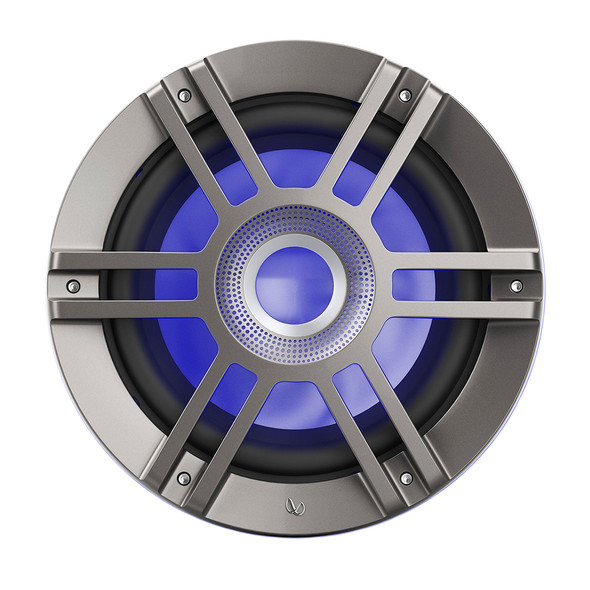 """Infinity 10"""" Marine RGB Kappa Series Speakers - Titanium/Gunmetal [KAPPA1050M]"""