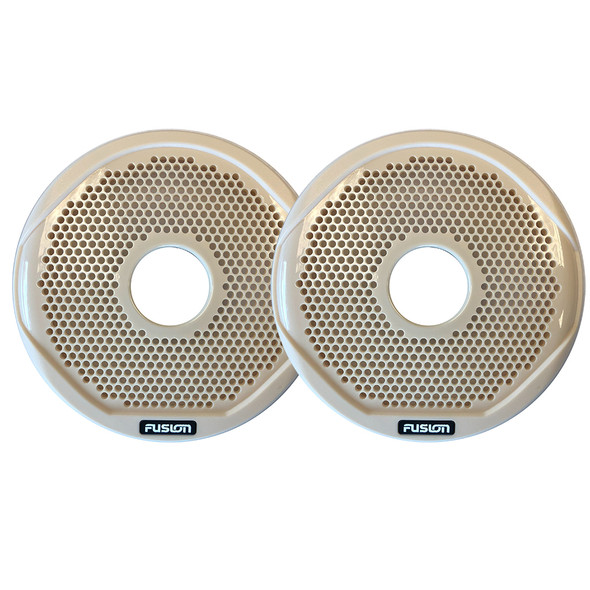"""FUSION MS-FR6GBG - 6"""" Grill Covers - Beige f/FR-Series Speakers [010-01648-00]"""