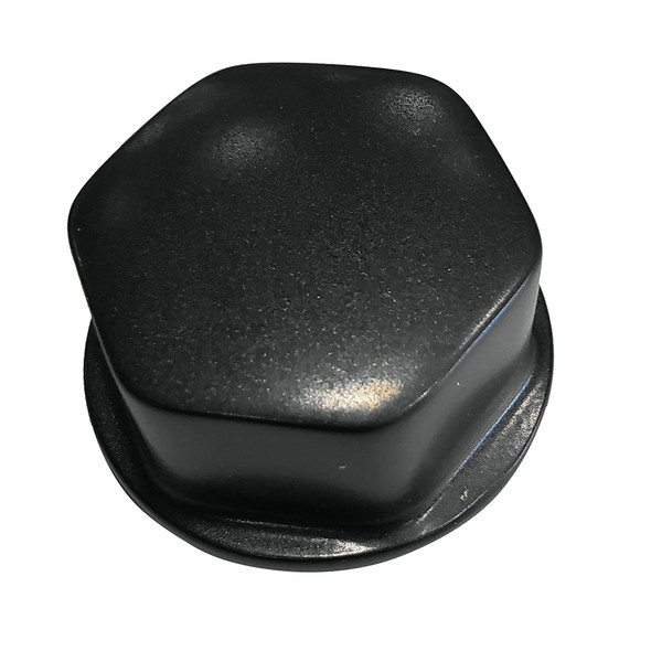 "Schmitt  Ongaro Faux Center Nut Black w/1/2""  5/8"" M12 Base f/Cast Steering Wheels [CAP030B]"