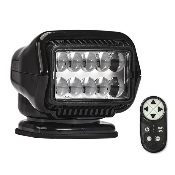 Golight Stryker ST Series Permanent Mount Black LED w/Wireless Handheld Remote [30514ST]