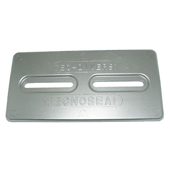 """Tecnoseal Aluminum Plate Anode - 12"""" x 6"""" x 1/2"""" [TEC-DIVERS-AL]"""