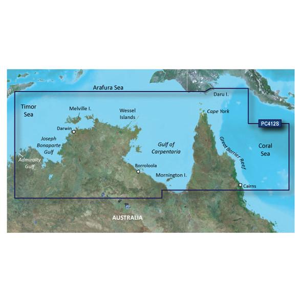 Garmin BlueChart g2 HD - HXPC412S - Admiralty Gulf Wa To Cairns - microSD\/SD [010-C0870-20]