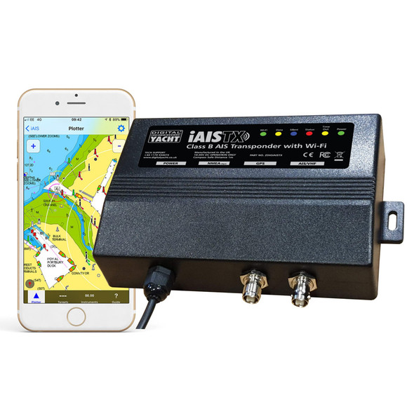 Digital Yacht iAISTX Plus Class B Wireless  NMEA 2000 Transponder [ZDIGIAISTXPL]