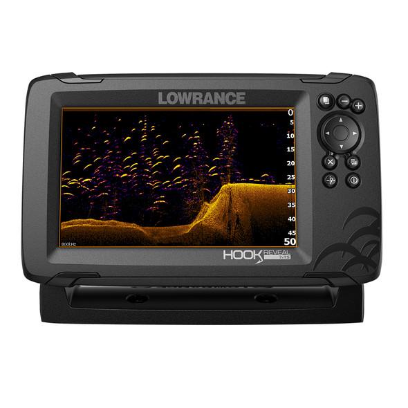 Lowrance HOOK Reveal 7x Fishfinder w/TripleShot Transom Mount Transducer [000-15515-001]