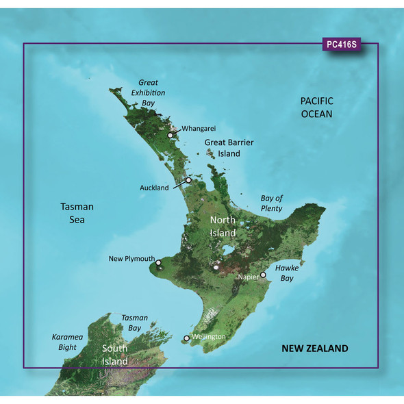 Garmin BlueChart g2 HD - HXPC416S - New Zealand North - microSD\/SD [010-C0874-20]