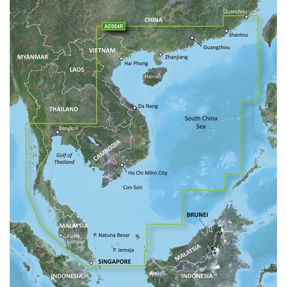 Garmin BlueChart g2 HD - HAE004R - Hong Kong\/South China Sea - microSD\/SD [010-C0879-20]