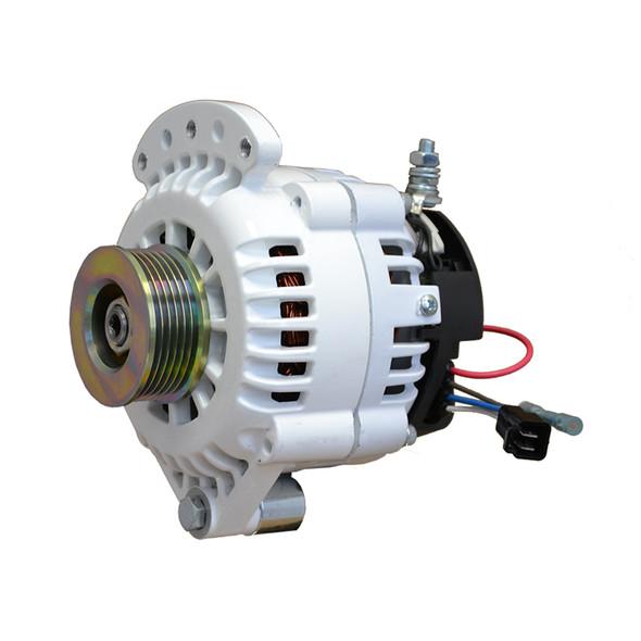 """Balmar Alternator 120 Amp 12V 1-2"""" Single Foot Single K6 Pulley w/Isolated Grounding [621-120-K6]"""