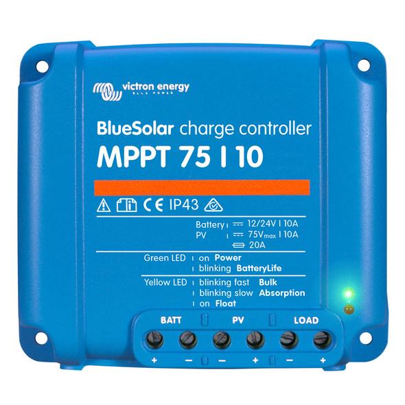 Victron BlueSolar MPPT Charge Controller - 75V - 10AMP [SCC010010050R]