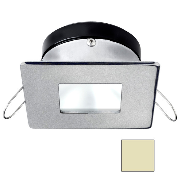 i2Systems Apeiron A1110Z - 4.5W Spring Mount Light - Square/Square - Warm White - Brushed Nickel Finish [A1110Z-44CAB]