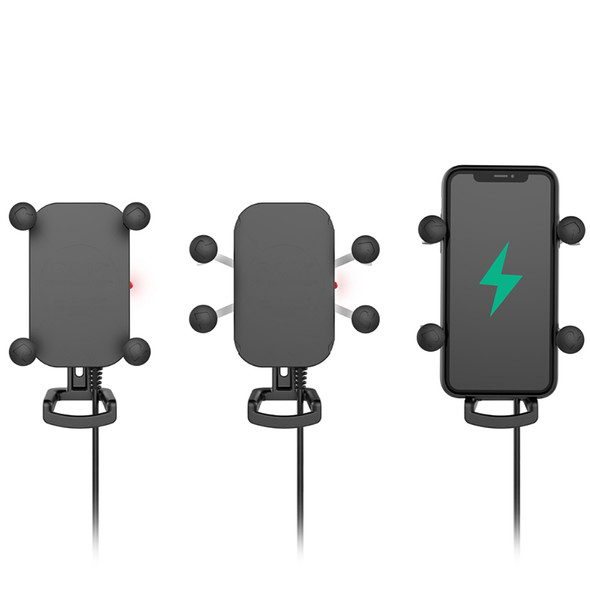 RAM Mount Tough-Charge Waterproof Wireless Charging Holder w\/Charger [RAM-HOL-UN12WB-V7M]
