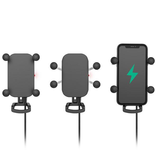 RAM Mount Tough-Charge Waterproof Wireless Charging Mount w\/Tough-Claw [RAM-B-400-A-UN12W-V7M]