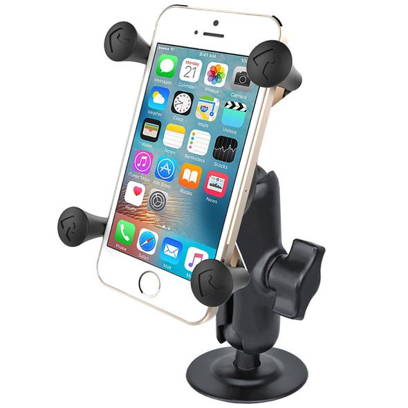 RAM Mount RAM X-Grip Phone Mount w\/Flex Adhesive Base [RAP-B-378-UN7U]