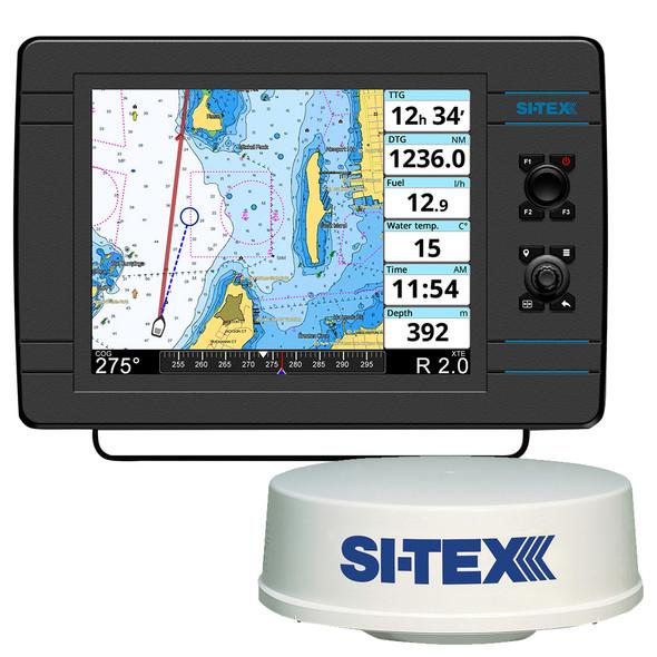 "SI-TEX NavPro 1200F w\/MDS-12 WiFi 24"" Hi-Res Digital Radome Radar w\/10M Cable [NAVPRO1200FR]"