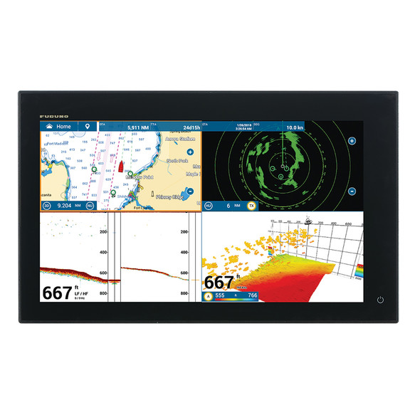 "Furuno NavNet TZtouch3 19"" MFD w\/1kW Dual Channel CHIRP Sounder [TZT19F]"