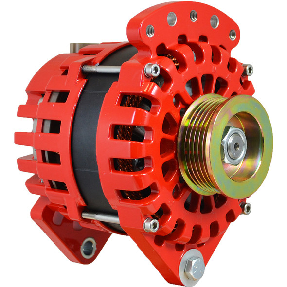 "Balmar Alternator 170AMP, 12V, 3.15"" Dual Foot K6 Pulley w\/Isolated Grounding [XT-DF-170-K6-IG]"