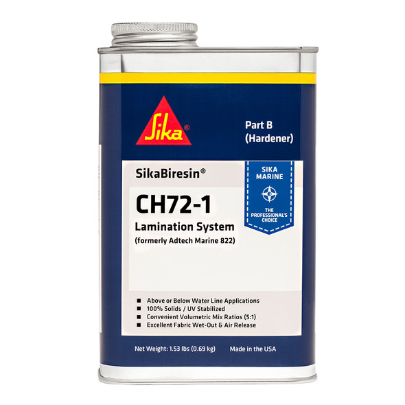 Sika SikaBiresin CH72-1 Fast Cure - Pale Amber - Quart [607405]