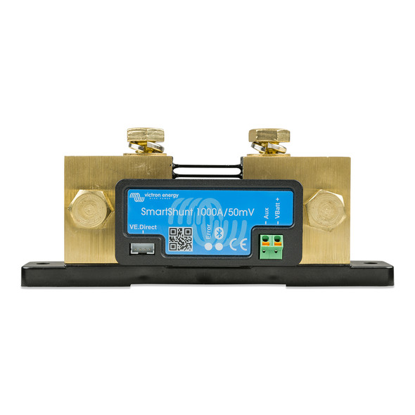 Victron SmartShunt 1000AMP\/50MV Bluetooth Smart Battery Shunt [SHU050210050]