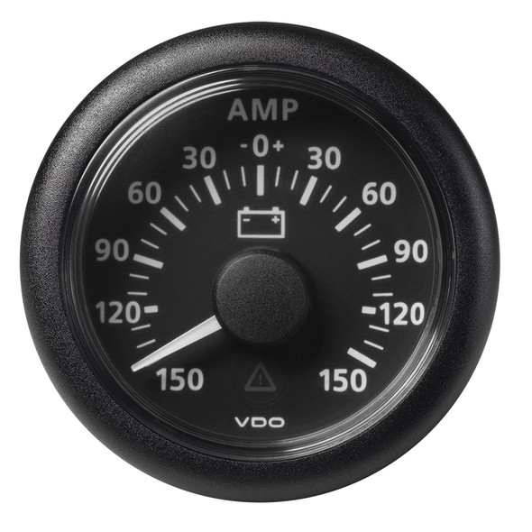 "VDO 2-1\/16"" (52mm) Viewline Battery Status Gauge -150\/+150 AMP - 8 to 32V - Black Dial  Bezel [A2C59512329]"
