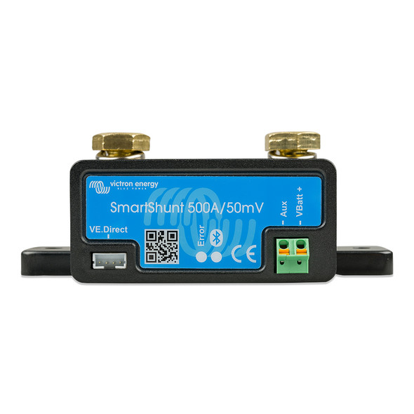 Victron SmartShunt 500AMP\/50MV Bluetooth Smart Battery Shunt [SHU050150050]
