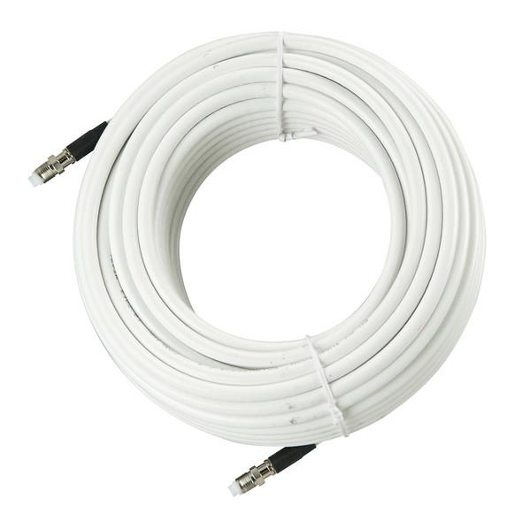 Glomex 30M - 99 RG-8X Coax f\/Glomeasy VHF Antennas - White [RA350\/30FME]