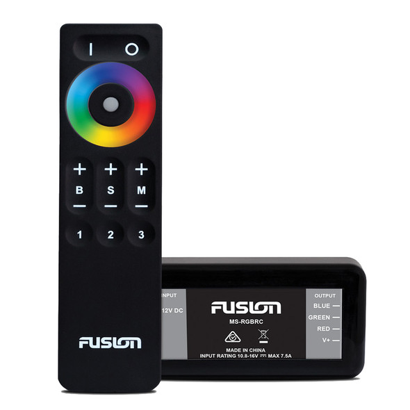 Fusion MS-CRGBWRC LED Lighting Control Module\/Remote f\/Signature Series 3 [010-13060-00]