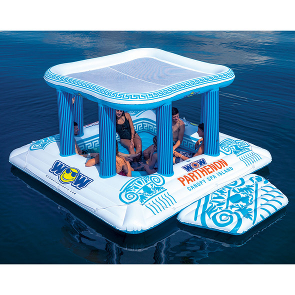 WOW Watersports Parthernon Island Float - 8 Person [20-2000]