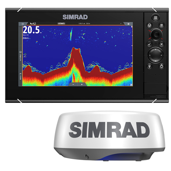 Simrad NSS9 evo3S Combo Radar Bundle w\/Halo20+ [000-15554-001]