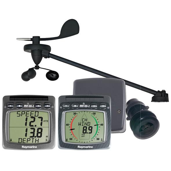 Raymarine Wireless Wind, Speed & Depth System w\/Triducer [T108-916]