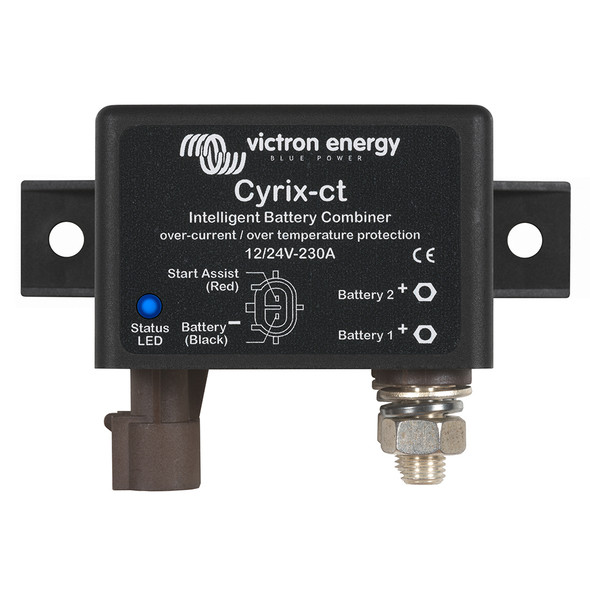 Victron Combiner 12\/24V-230A Cyrix-CT Intelligent Combiner Microprocessor Controlled [CYR010230010]