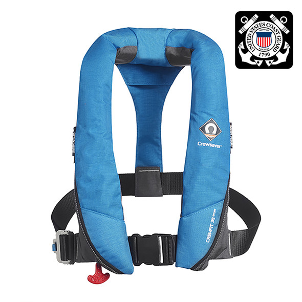 Crewsaver Crewfit 35 Sport USCG Automatic Life Jacket - Blue [904025]