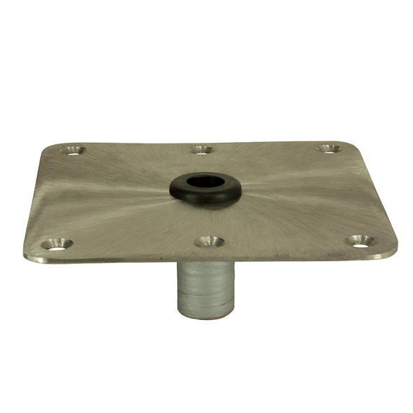 "Springfield KingPin 7"" x 7"" - Stainless Steel - Square Base [1620001]"