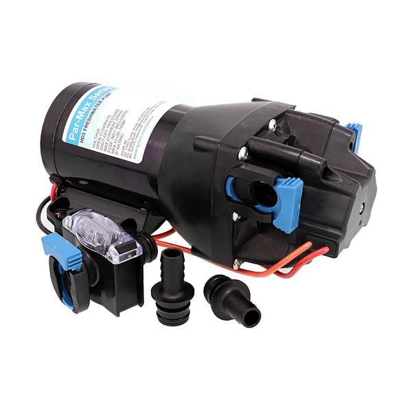 Jabsco Par-Max HD3 Heavy Duty Water Pressure Pump - 12V - 3 GPM - 40 PSI [Q301J-115S-3A]