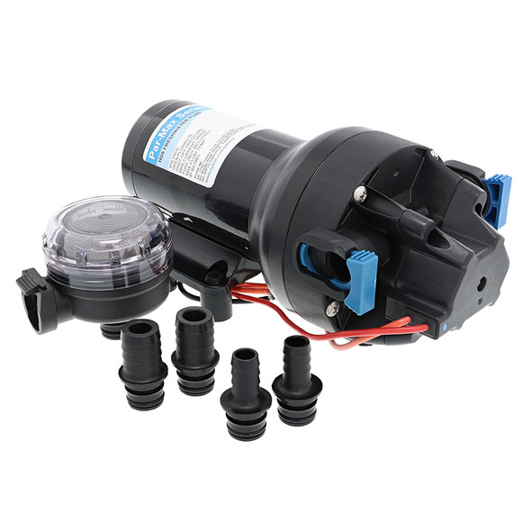 Jabsco Par-Max HD5 Heavy Duty Water Pressure Pump - 12V - 5 GPM - 60 PSI [P501J-118S-3A]