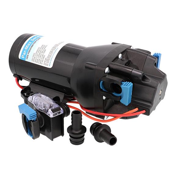 Jabsco Par-Max HD4 Heavy Duty Water Pressure Pump - 24V - 4 GPM - 60 PSI [Q402J-118S-3A]