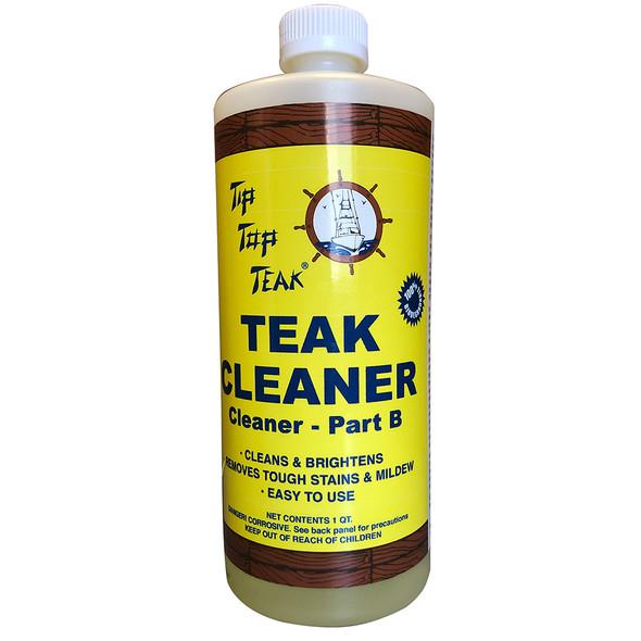 Tip Top Teak Cleaner Part B - Quart [TC862]