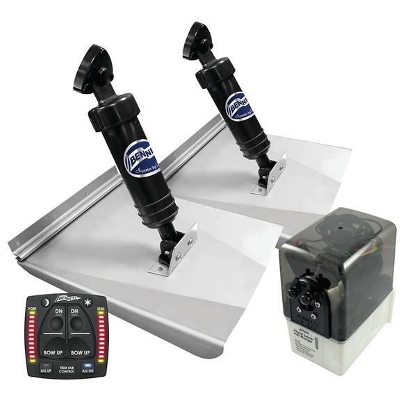 Bennett Marine M120 Sport Tab System w\/One Box Indication [M120OBI]