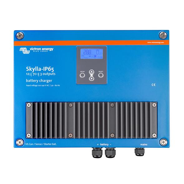 Victron Skylla-IP65 12\/70 3-Bank 120-240VAC Battery Charger [SKY012070100]