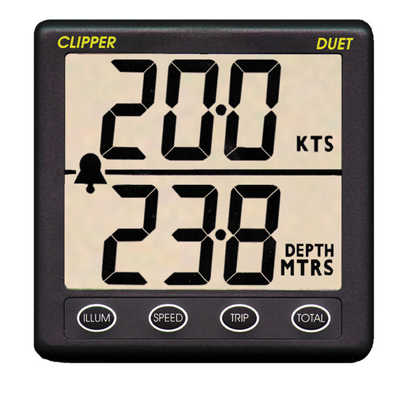 Clipper Duet Instrument Depth Speed Log w\/Transducer [CL-DS]