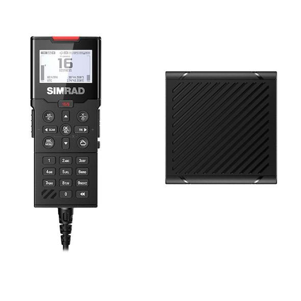 Simrad HS100 Wired Handset  Speaker for HS100\/HS100-B VHF Radios [000-15647-001]