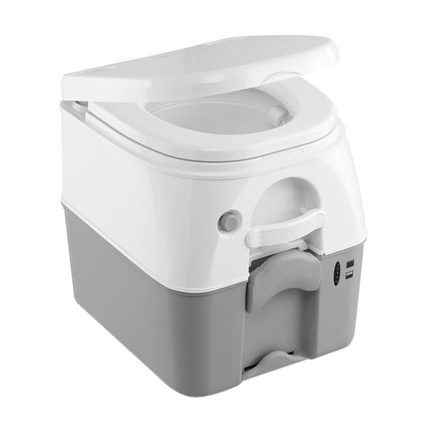 Dometic 975 MSD Portable Toilet w\/Mounting Brackets - 5 Gallon - Grey [301197506]