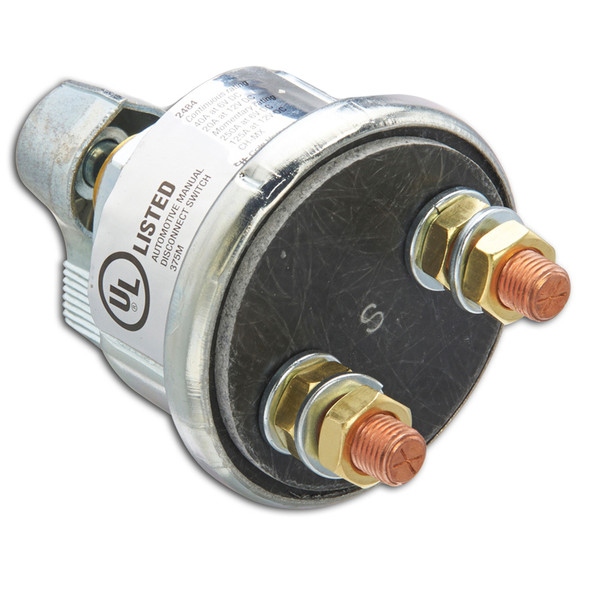 Cole Hersee Metal Body Battery Disconnect Switch SPST - 6-12V [2484-BP]