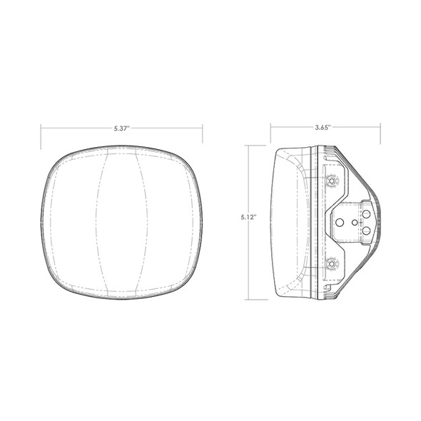 RIGID Industries Adapt XE Extreme Enduro LED Moto Kit - Black [300416]