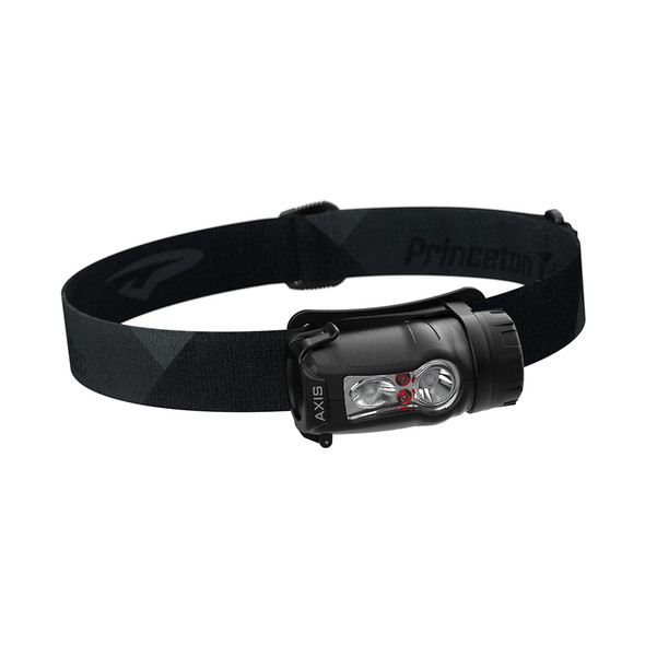Princeton Tec Axis Rechargeable LED HeadLamp - Black\/Grey [AXRC21-BK\/DK]