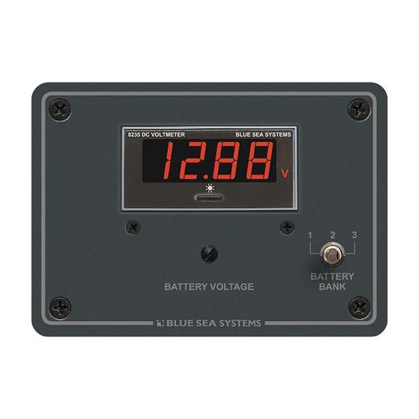 Blue Sea 8051 DC Digital Voltmeter Panel [8051]