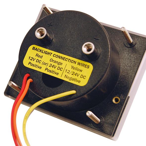 Blue Sea 8015 DC Analog Voltmeter w\/Panel [8015]