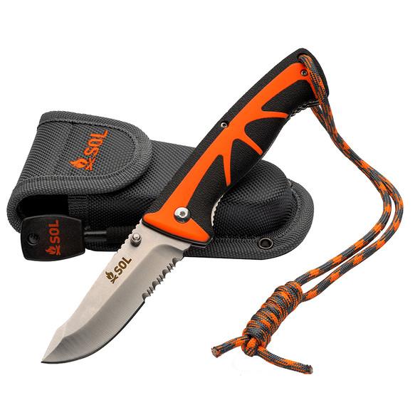 S.O.L. Survive Outdoors Longer Stoke Folding Knife [0140-1022]