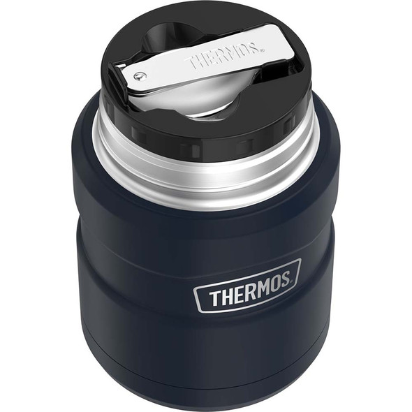 Thermos Stainless King Vacuum Insulated Stainless Steel Food Jar - 16oz - Matte Midnight Blue [SK3000MDB4]