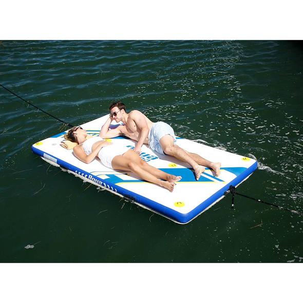 Aqua Leisure 8 x 5 Inflatable Deck - Drop Stitch [APR20923]